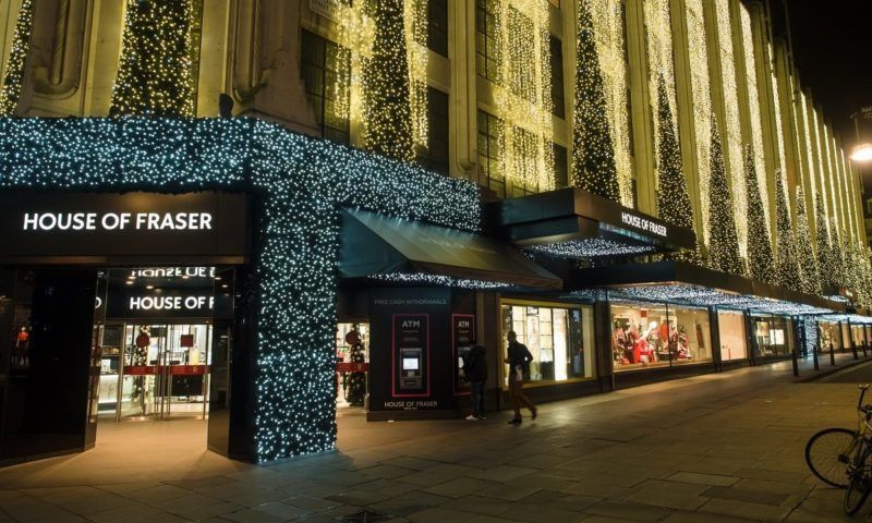 house of fraser plans to close stores as new owners look. Black Bedroom Furniture Sets. Home Design Ideas